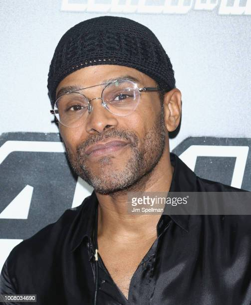 Singer Maxwell attends the 'BlacKkKlansman' New York premiere at Brooklyn Academy of Music on July 30 2018 in New York City