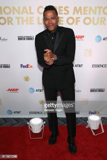 Singer Maxwell attends the National CARES Mentoring Movement's third annual For The Love Of Our Children Gala on January 29 2018 in New York City