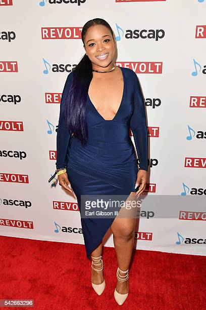 Singer Maya Milan attends the 2016 ASCAP Rhythm Soul Awards at the Beverly Wilshire Four Seasons Hotel on June 23 2016 in Beverly Hills California