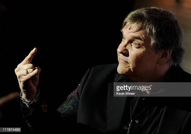 Singer Meat Loaf arrives at the 22nd Annual GLAAD Media Awards at the Westin Bonaventure Hotel on April 10 2011 in Los Angeles California