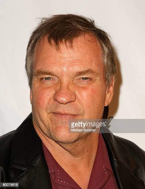 Singer Meat Loaf arrives at the 6th Annual World Poker Tour Invitational Kick Off at the Commerce Casino on March 1 2008 in Los Angeles California