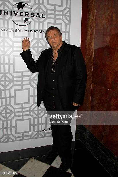 Singer Meat Loaf attends the Brit Awards after party held by Universal at the Mandarin Oriental Hotel on February 16, 2010 in London, England.