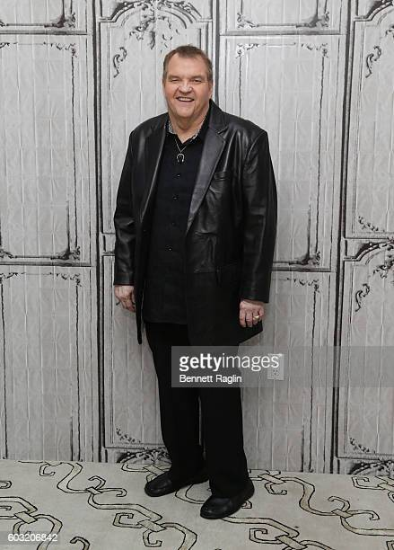 Singer Meat Loaf attends The BUILD series at AOL HQ on September 12, 2016 in New York City.