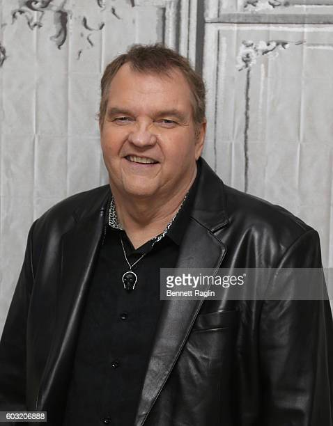 Singer Meat Loaf attends The BUILD series at AOL HQ on September 12 2016 in New York City