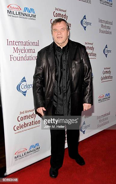 Singer Meat Loaf attends the International Myeloma Foundation's 3rd Annual Comedy Celebration benefiting the Peter Boyle Memorial Fund at the Ebell...