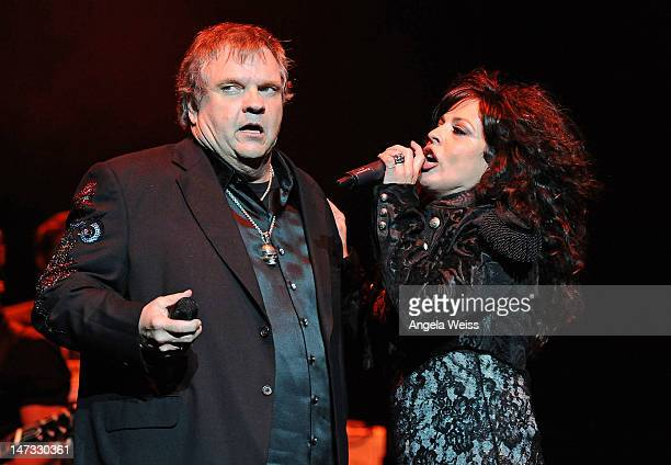 Singer Meat Loaf performs at The Wiltern on June 27 2012 in Los Angeles California