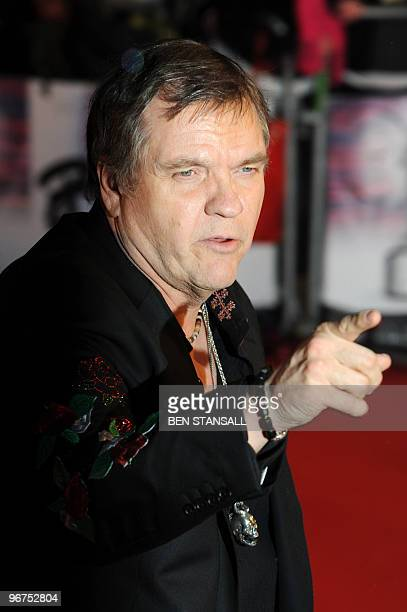 US singer Meatloaf arrives for The Brit Awards 2010 at Earls Court in London on February 16 2010 AFP PHOTO/Ben Stansall