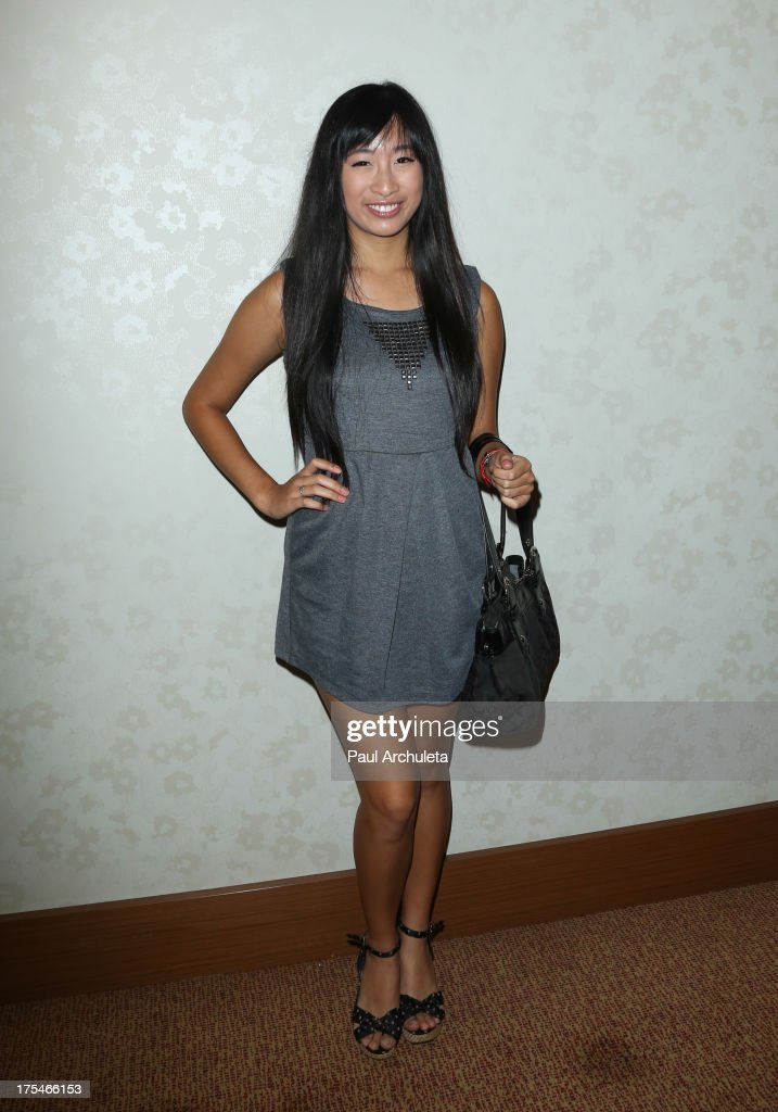 Singer Meeghan Henry attends the 2013 EOTM Awards press conference on August 3, 2013 in West Hollywood, California.