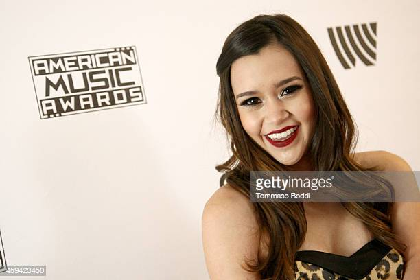 Singer Megan Nicole attends Red Carpet Radio presented by Westwood One at Nokia Theatre LA Live on November 22 2014 in Los Angeles California