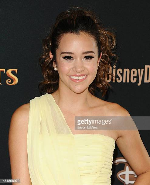 Singer Megan Nicole attends the premiere of 'Descendants' at Walt Disney Studios Main Theater on July 24 2015 in Burbank California