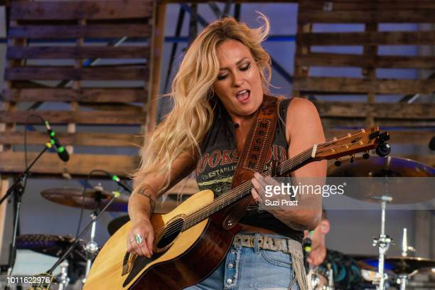 Singer Meghan Patrick performs at Watershed Festival at Gorge Amphitheatre on August 5 2018 in George Washington