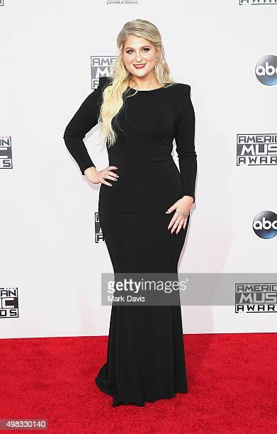 Singer Meghan Trainor attends the 2015 American Music Awards at Microsoft Theater on November 22 2015 in Los Angeles California