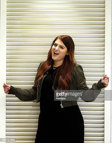 Singer Meghan Trainor poses during a photo shoot in Sydney New South Wales
