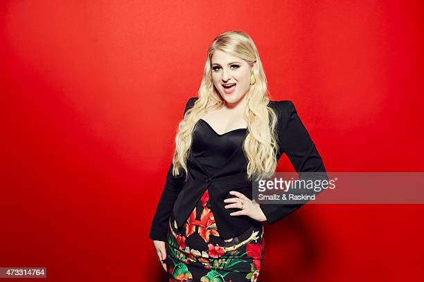Singer Meghan Trainor poses for a portrait at the 1027 KIIS FM's Wango Tango portrait studio for People Magazine on May 9 2015 in Carson California