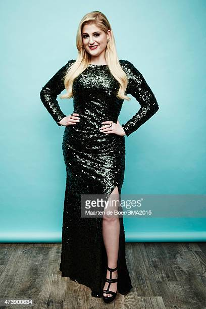 Singer Meghan Trainor poses for a portrait at the 2015 Billboard Music Awards on May 17 2015 in Las Vegas Nevada