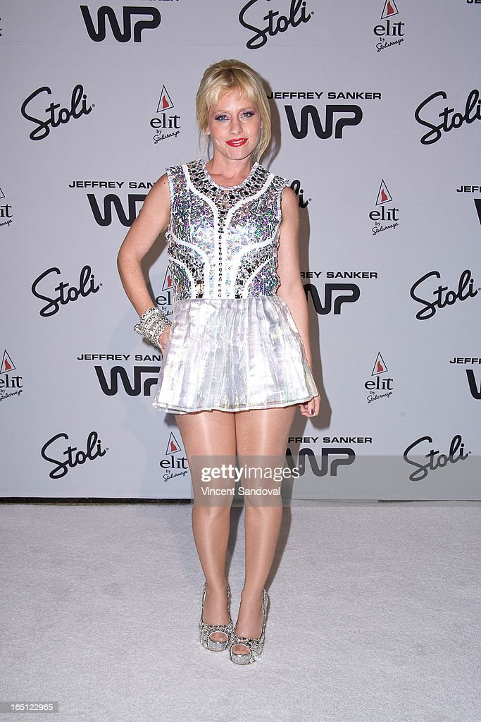 Singer Meital Dohan attends The White Party during Jeffrey Sanker Presents White Party Palm Springs 2013 - Day 2 at the Convention Center on March 30, 2013 in Palm Springs, California.