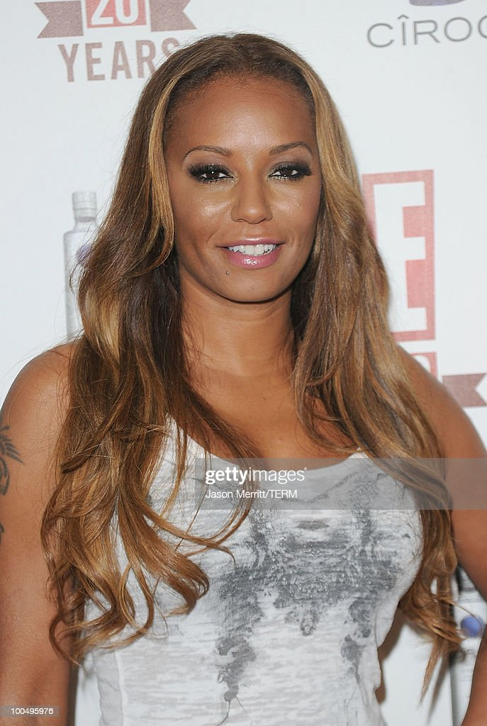 Singer Mel B arrives at the E! 20th anniversary party celebrating two decades of pop culture held at The London Hotel on May 24, 2010 in West Hollywood, California.