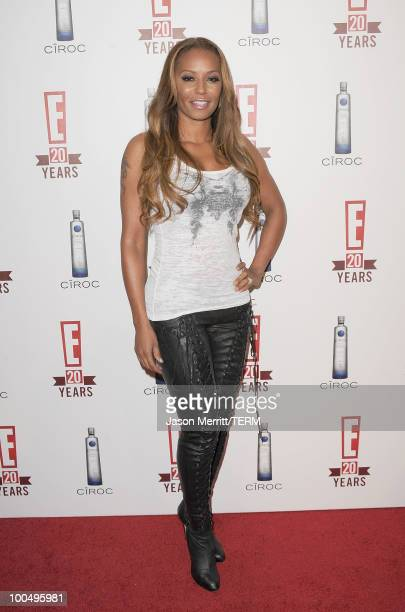Singer Mel B arrives at the E 20th anniversary party celebrating two decades of pop culture held at The London Hotel on May 24 2010 in West Hollywood...