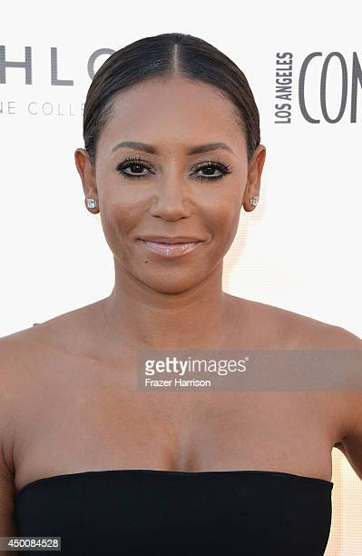 Singer Mel B attends Los Angeles Confidential Magazine and Cover Star Robin Wright Celebrate The Magazine's Women Of Influence Issue at SIXTY Beverly...