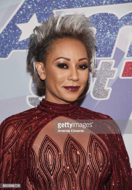 Singer Mel B attends NBC's 'America's Got Talent' Season 12 Finale at the Dolby Theatre on September 20 2017 in Hollywood California