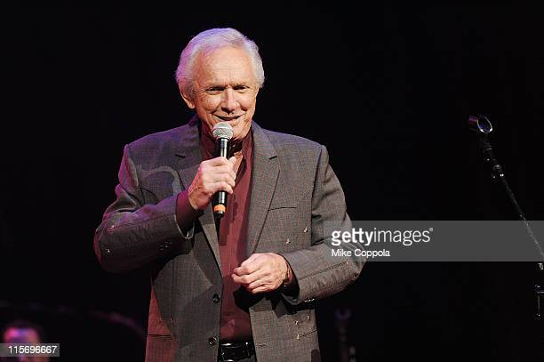 Singer Mel Tillis performs during Marty Stuart's 10th Annual Late Night Jam at the Ryman Auditorium on June 8 2011 in Nashville Tennessee