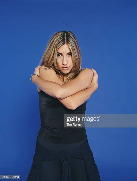 Singer Melanie Blatt of EnglishCanadian girl group All Saints circa 1995