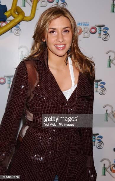 Singer Melanie Blatt