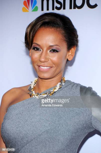 Singer Melanie Brown arrives at the Cable Show 2010 featuring an evening with NBC Universal at Universal Studios Hollywood on May 12 2010 in...