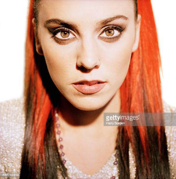 Singer Melanie C aka Sporty Spice of pop band the Spice Girls is photographed for the Observer on December 8 1997 in Las Vegas Nevada