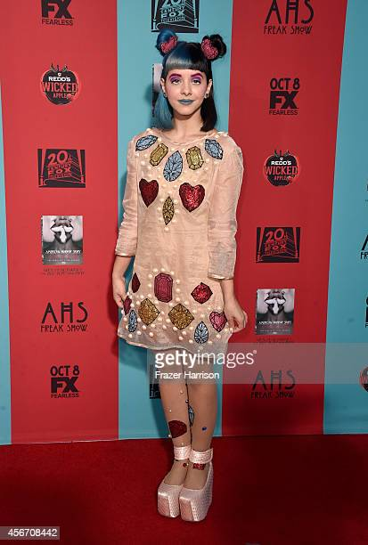 Singer Melanie Martinez attends FX's American Horror Story Freak Show premiere screening at TCL Chinese Theatre on October 5 2014 in Hollywood...