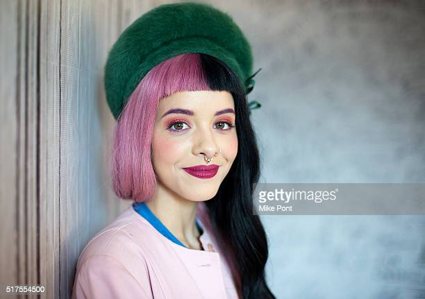 Singer Melanie Martinez attends the AOL Build Speaker Series to discuss Cry Baby at AOL Studios In New York on March 25 2016 in New York City