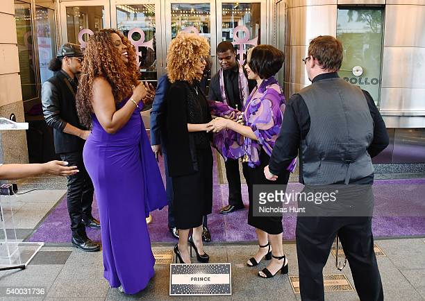 singer Meli'sa Morgan saxophonist Maceo Parker singer Andy Allo and president and chief executive officer of the Apollo Theater Jonelle Procope...