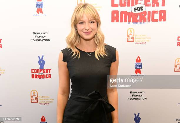 Singer Melissa Benoist attends the Concert for America at Royce Hall UCLA on September 21 2019 in Westwood California