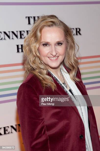 Singer Melissa Etheridge arrives to the 32nd Kennedy Center Honors at Kennedy Center Hall of States on December 6 2009 in Washington DC