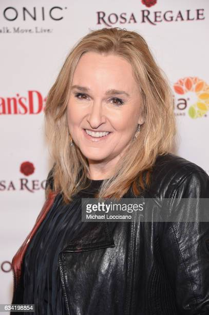 Singer Melissa Etheridge attends the 14th annual Woman's Day Red Dress Awards at Jazz at Lincoln Center on February 7 2017 in New York City