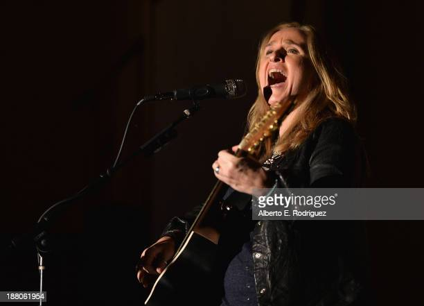 Singer Melissa Etheridge attends the 6th annual Go Go Gala on November 14 2013 in Pacific Palisades California