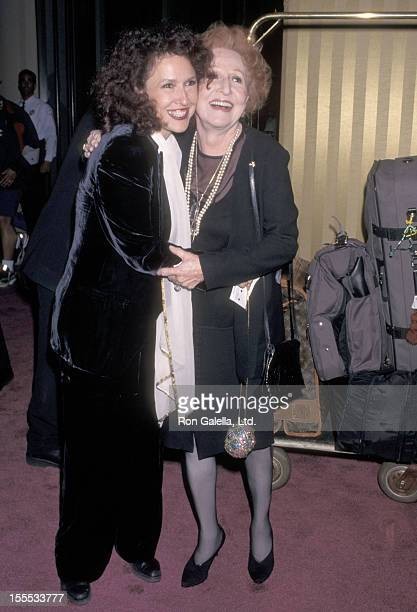 Singer Melissa Manchester and mother Ruth Manchester attend the 26th Annual American Film Institute Lifetime Achievement Award Salute to Robert Wise...