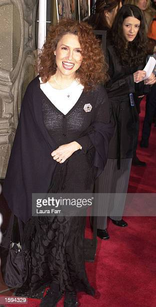 Singer Melissa Manchester attends the Walt Disney Picture's Video Premiere of Lady and the Tramp II Scamp's Adventure February 18 2001 in Los Angeles...