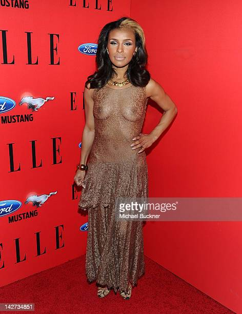 Singer Melody Thornton attends the Third Annual ELLE Women In Music Event at Avalon on April 11 2012 in Hollywood California