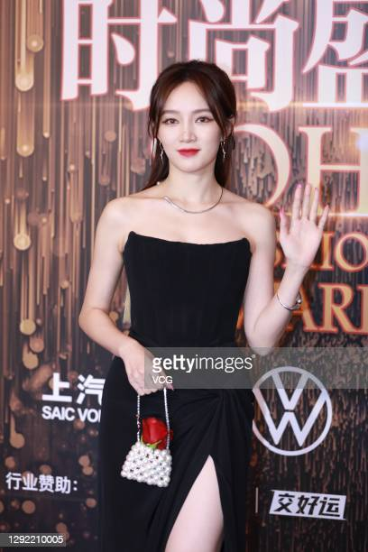 Singer Meng Jia attends 2020 Sohu Fashion Awards on December 19, 2020 in Beijing, China.