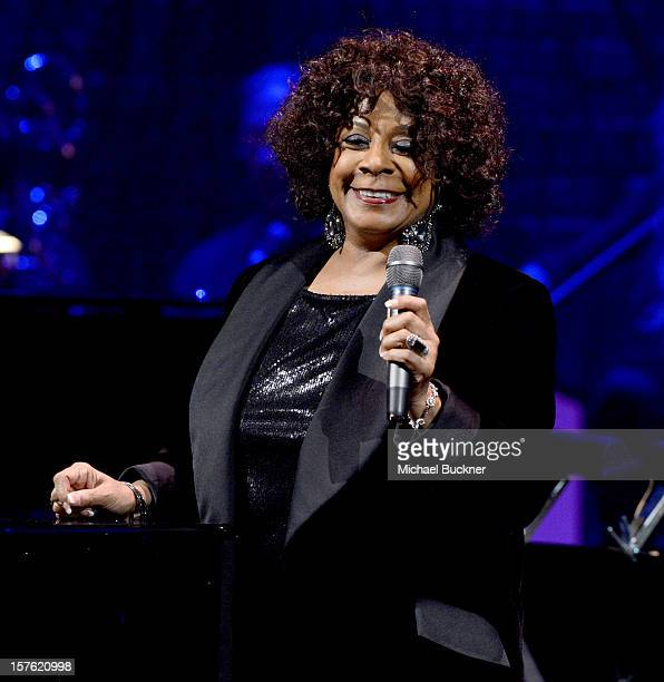 Singer Merry Clayton performs onstage during a celebration of Carole King and her music to benefit Paul Newman's The Painted Turtle Camp at the Dolby...