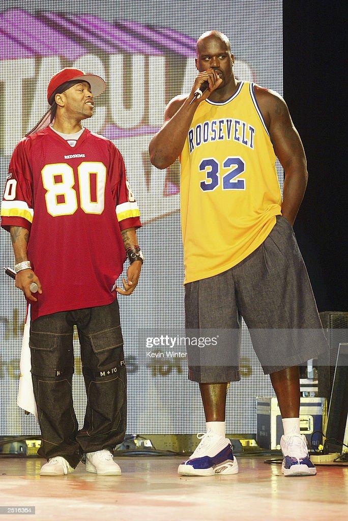 Method Man and Shaquille O'Neal : Nachrichtenfoto
