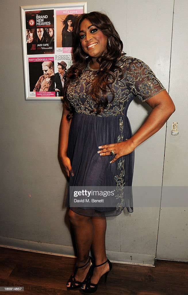 Mica Paris Performs At The Jazz Cafe In London