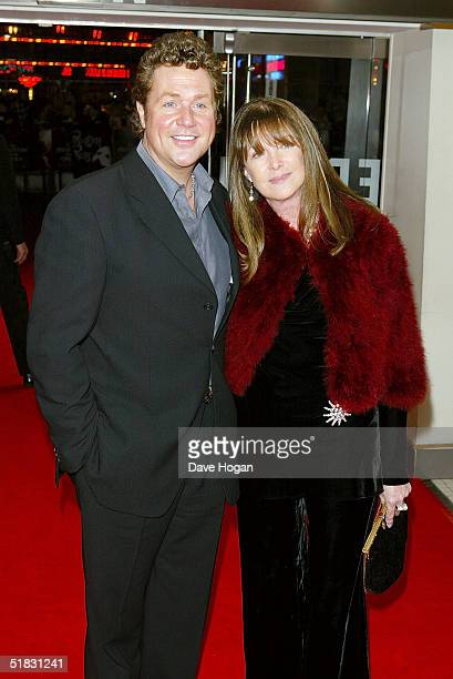 Singer Michael Ball and an unidentified guest arrive at the World Premiere of Phantom Of The Opera at the Odeon Leicester Square on December 6 2004...