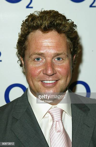 Singer Michael Ball arrives at the NordoffRobbins O2 Silver Clef Awards at the InterContinental Hotel on June 18 2004 in London