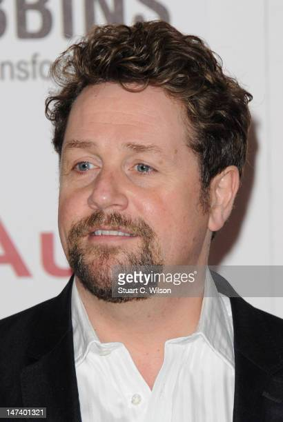 Singer Michael Ball attends the Nordoff Robbins O2 Silver Clef Awards at the London Hilton Hotel on June 29 2012 in London England