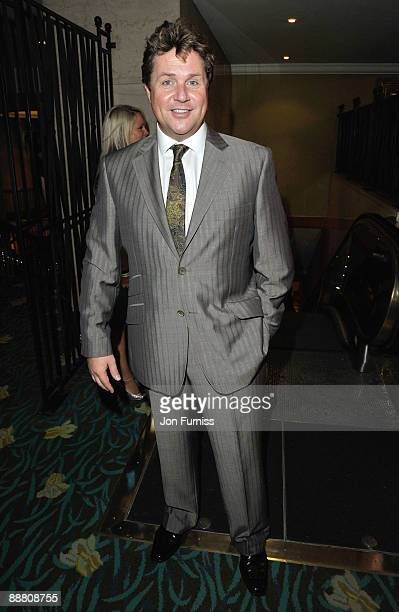 Singer Michael Ball attends the O2 Silver Clef Awards 2009 at the London Hilton on July 3, 2009 in London, England.