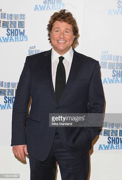 Singer Michael Ball who performed during the South Bank Show Awards 2009 at the Dorchester Hotel on January 20 2009 in London England