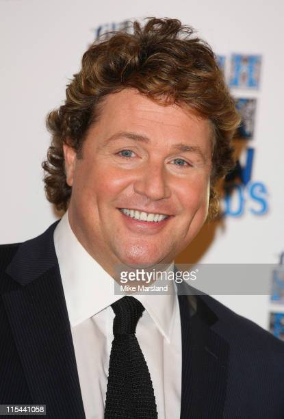Singer Michael Ball who performed during the South Bank Show Awards 2009 at the Dorchester Hotel on January 20, 2009 in London, England.