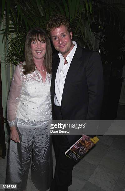 Singer Michael Ball with girlfriend Cathy McGowan at the West End opening night and AfterParty of 'My Fair Lady' starring Martine McCutcheon Jonathan...